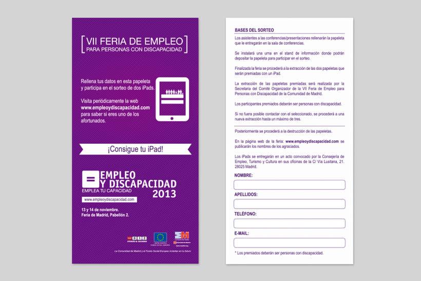 Empleo y Discapacidad 2013 - Imagen y Material Gráfico 2