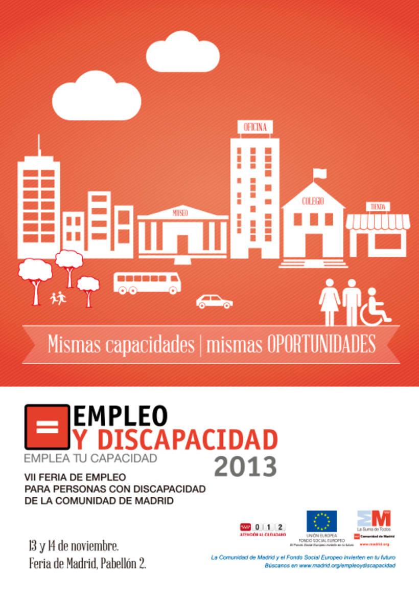 Empleo y Discapacidad 2013 - Propuestas de Imagen 0