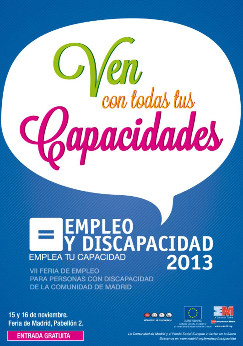 Empleo y Discapacidad 2013 - Propuestas de Imagen 1