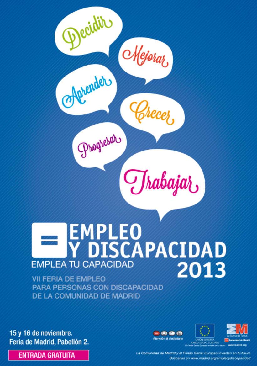 Empleo y Discapacidad 2013 - Propuestas de Imagen 2