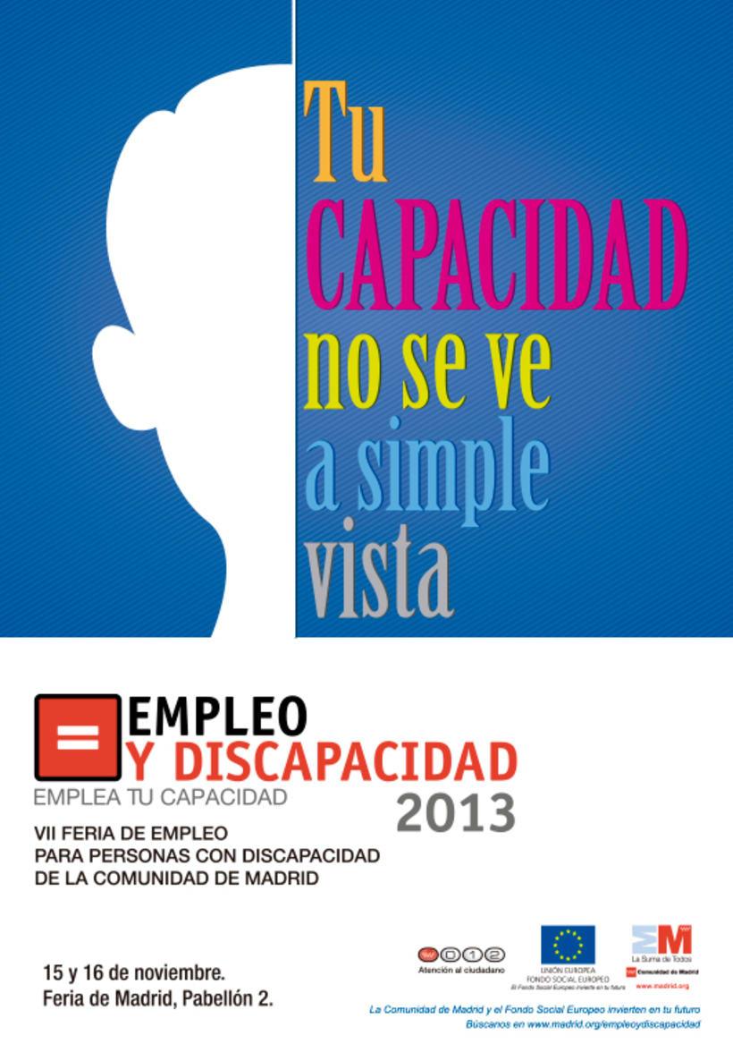 Empleo y Discapacidad 2013 - Propuestas de Imagen 3