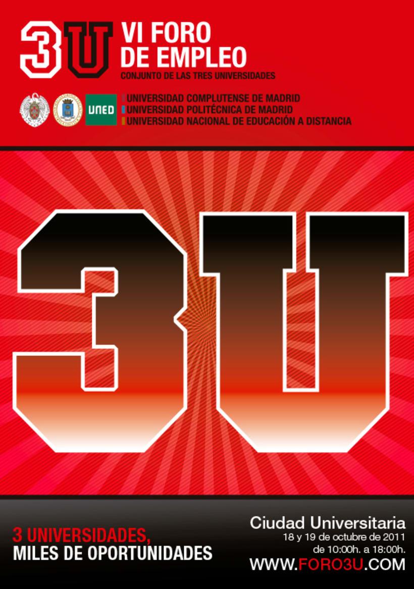 3U - Imagen y Material Gráfico diferentes ediciones 3