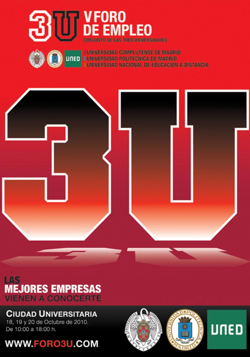 3U - Imagen y Material Gráfico diferentes ediciones 4
