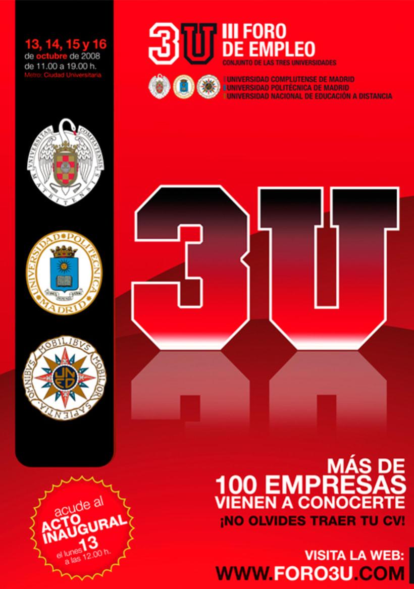 3U - Imagen y Material Gráfico diferentes ediciones 6
