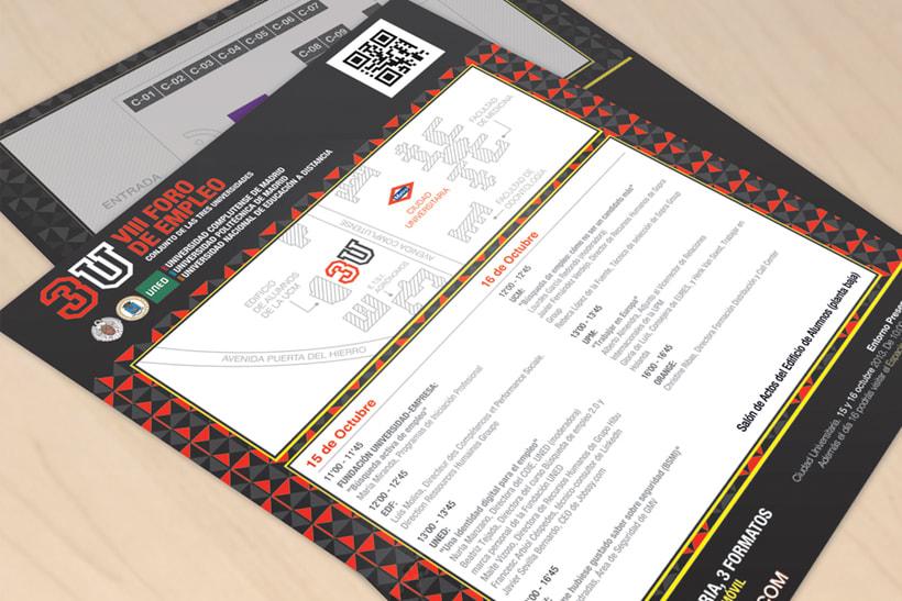 3U - Imagen y Material Gráfico diferentes ediciones 7