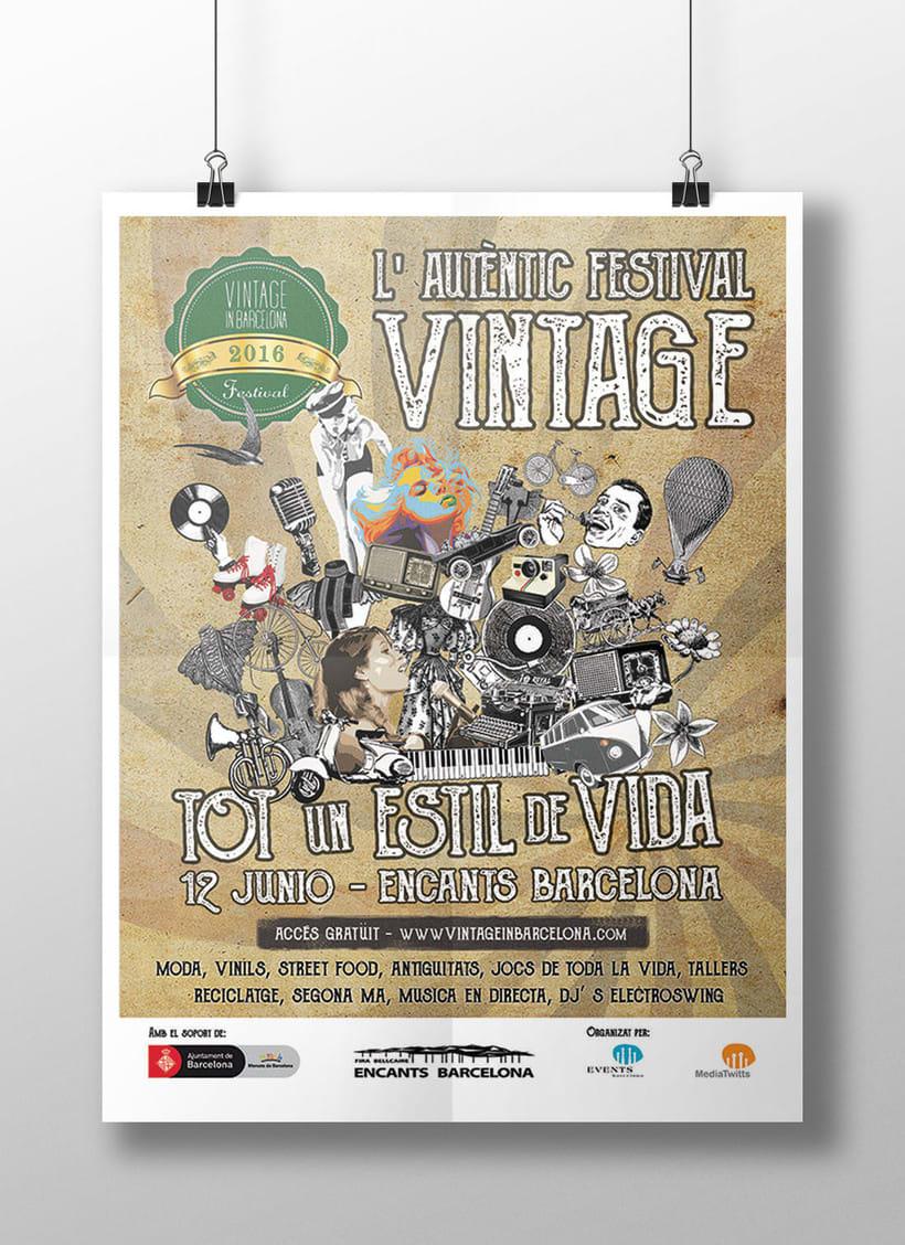 """Campaña publicitaria """"Vintage Market"""" 0"""