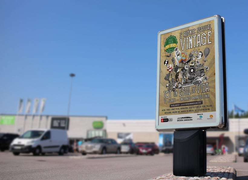 """Campaña publicitaria """"Vintage Market"""" 1"""