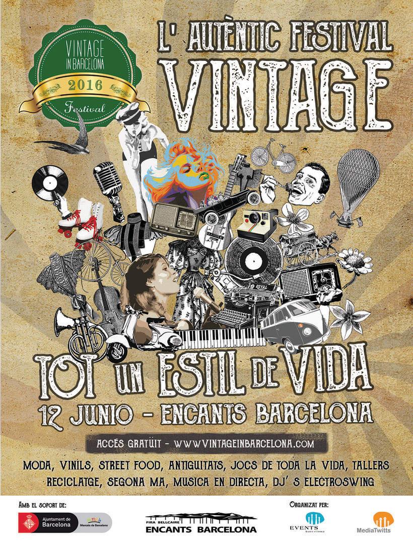 """Campaña publicitaria """"Vintage Market"""" 6"""