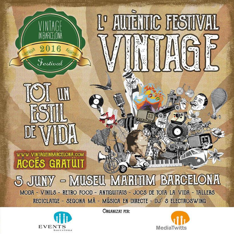 """Campaña publicitaria """"Vintage Market"""" 3"""
