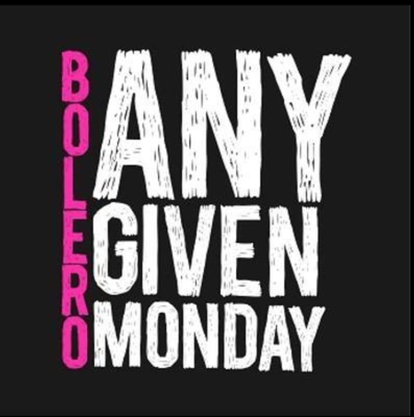 "Logo y banners social media ""Any Given Monday"" 0"