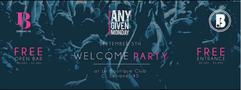 "Logo y banners social media ""Any Given Monday"" 2"