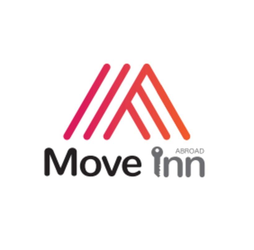 Logo y Flyer para Move Inn Abroad 0