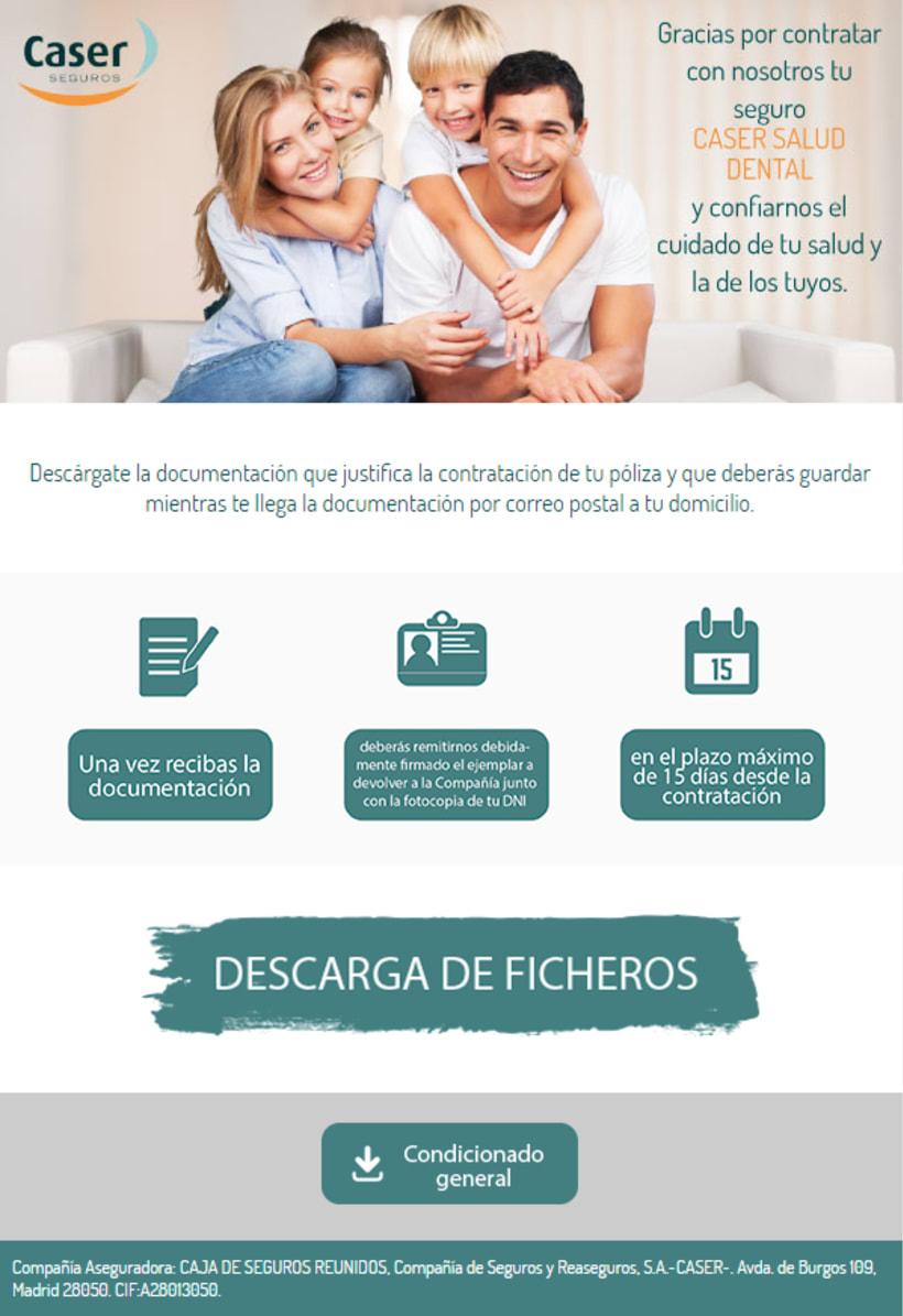 """Diseño Newsletters """"Caser Seguros"""" -1"""