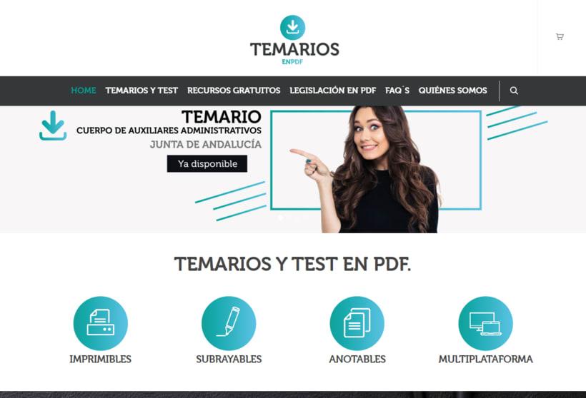 """Diseño de aplicaciones para Social Media """"temariosenpdf.es"""" 0"""