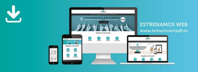 """Diseño de aplicaciones para Social Media """"temariosenpdf.es"""" 2"""