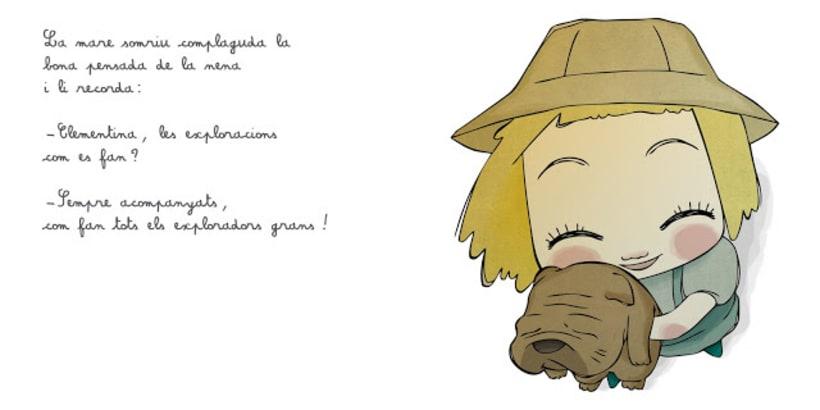 """La petita exploradora . UN ROBOT DINS DE CASA"""" · texto Ⓒ Joan de Déu Prats 11"""
