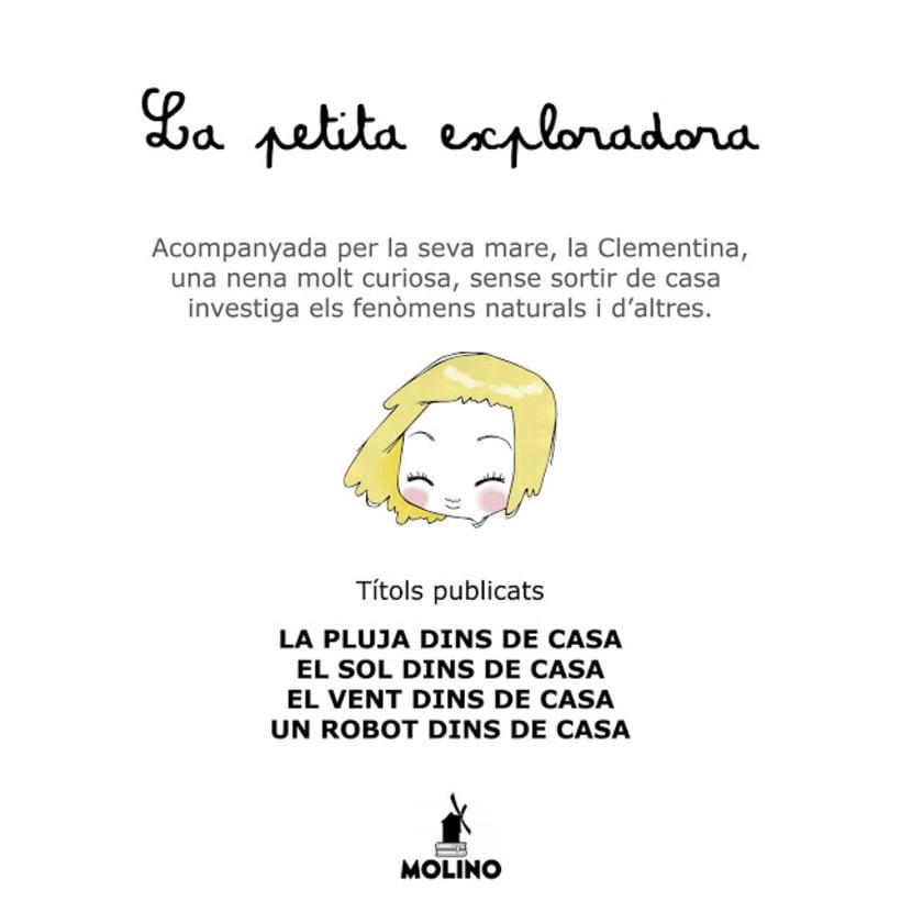 """La petita exploradora . UN ROBOT DINS DE CASA"""" · texto Ⓒ Joan de Déu Prats 12"""