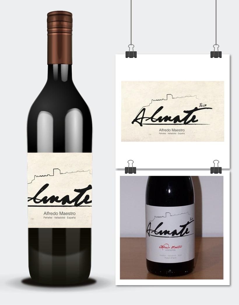 Diseño e ilustraciones etiquetas vino · Alfredo Maestro · Valladolid -1