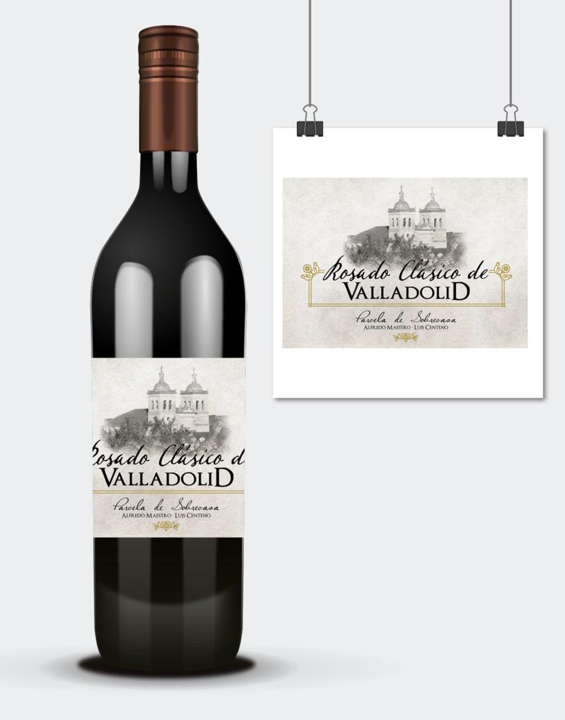 Diseño e ilustraciones etiquetas vino · Alfredo Maestro · Valladolid 5