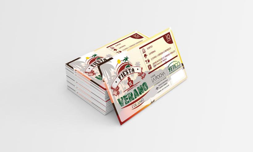 Diseño gráfico - Flyers, cartel & entradas evento 0
