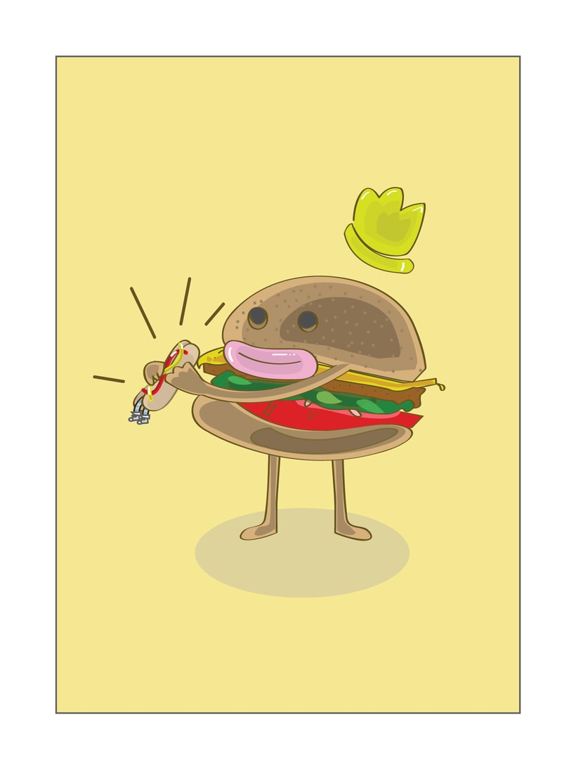 Mr.Hamburguer -1