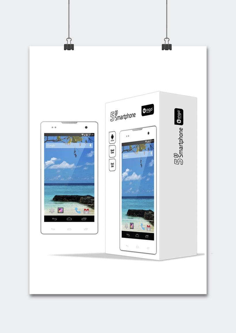 """Línea productos electrónicos INGO DEVICES"""" · Idea, creación, desarrollo, seguimiento y aprobación el producto, aplicación y packaging 0"""