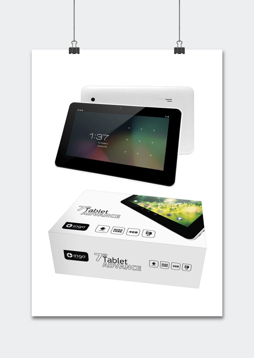 """Línea productos electrónicos INGO DEVICES"""" · Idea, creación, desarrollo, seguimiento y aprobación el producto, aplicación y packaging 1"""
