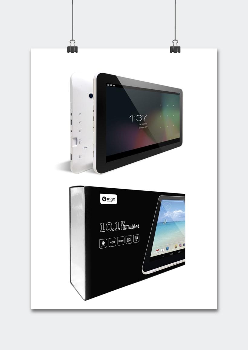 """Línea productos electrónicos INGO DEVICES"""" · Idea, creación, desarrollo, seguimiento y aprobación el producto, aplicación y packaging 7"""