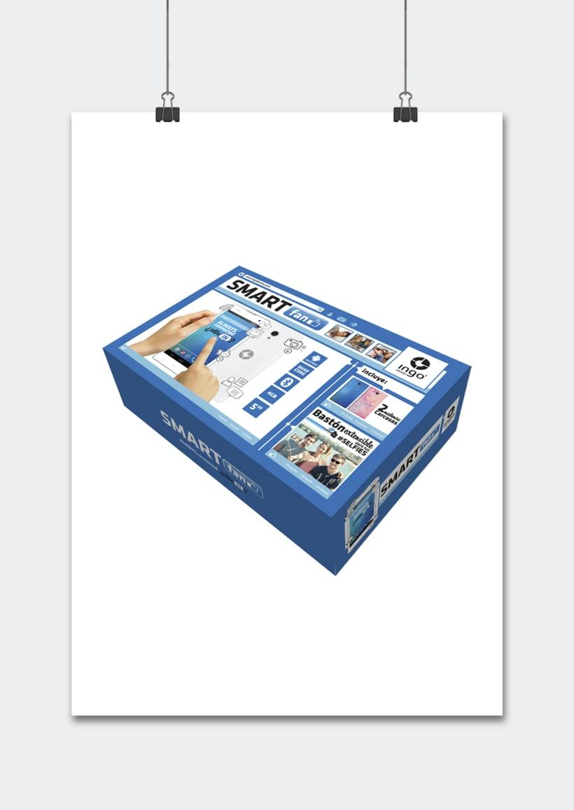 """Línea productos electrónicos INGO DEVICES"""" · Idea, creación, desarrollo, seguimiento y aprobación el producto, aplicación y packaging 18"""