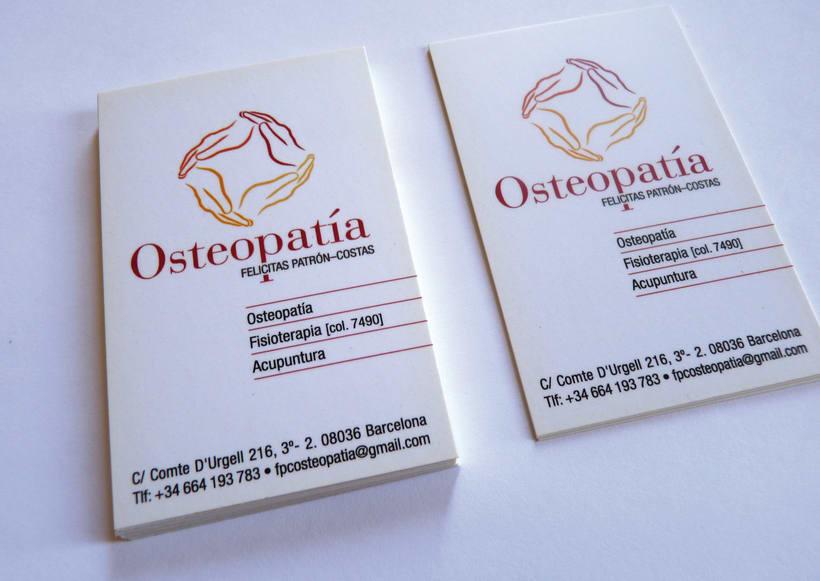 Logotipo y papelería para una Clínica de OSTEOPATÍA 1
