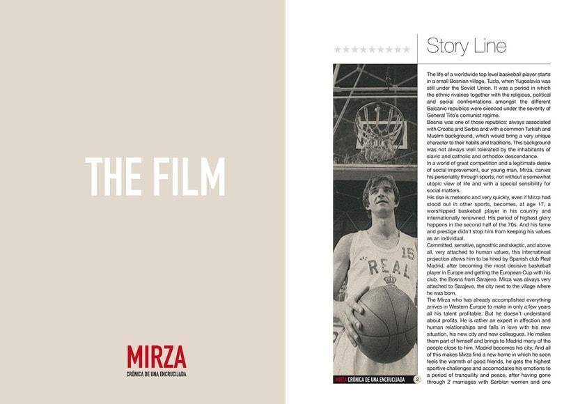 Documento de Venta de la película MIRZA 1