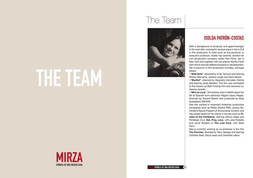 Documento de Venta de la película MIRZA 3