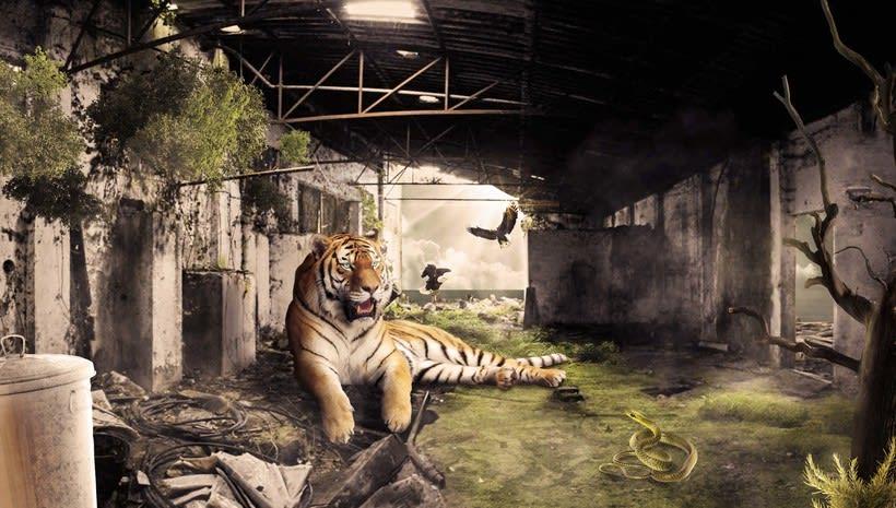 """Fotomontaje """"La Cueva Del Tigre"""" 0"""