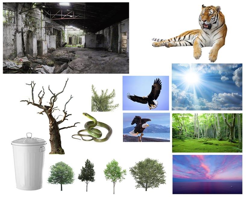 """Fotomontaje """"La Cueva Del Tigre"""" 1"""