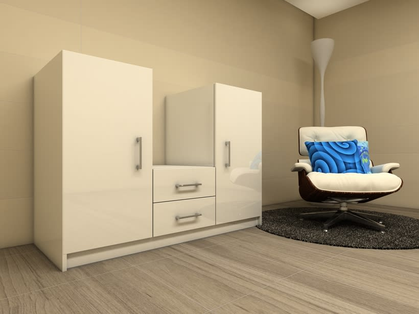 Diseño mueble de oficina  -1