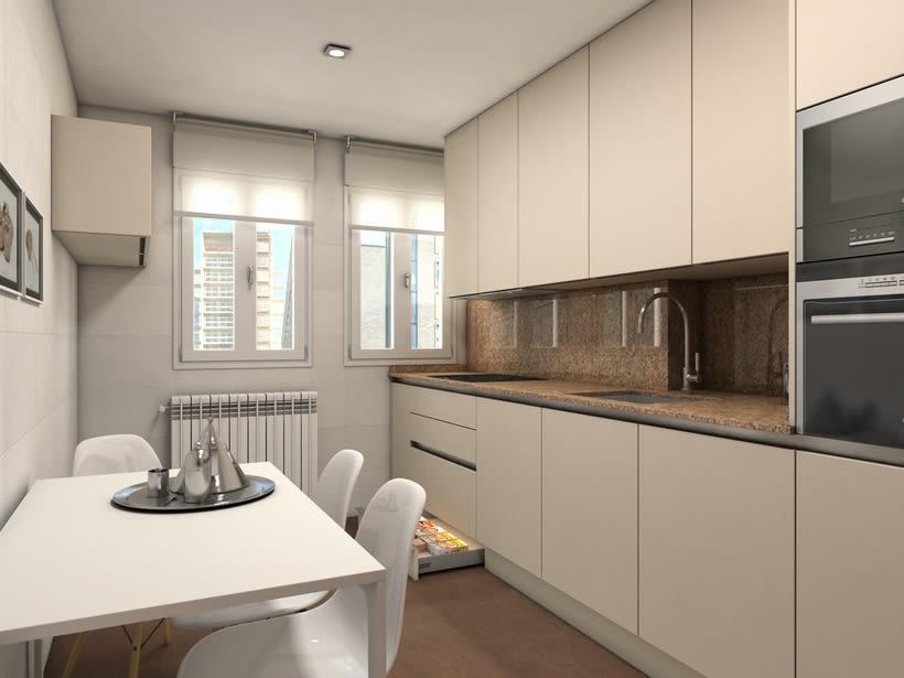 Diseño mobiliario de cocina  0
