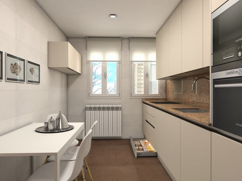 Diseño mobiliario de cocina  1