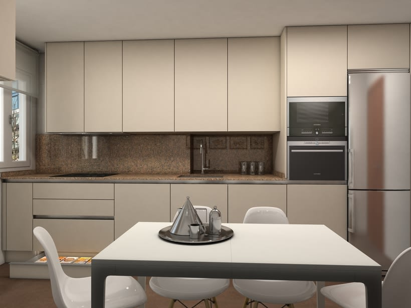 Diseño mobiliario de cocina  2