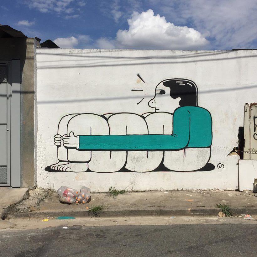Muretz: arte urbano por un São Paolo más divertido 12