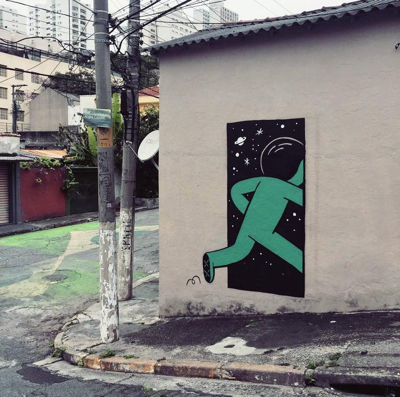 Muretz: arte urbano por un São Paolo más divertido 8