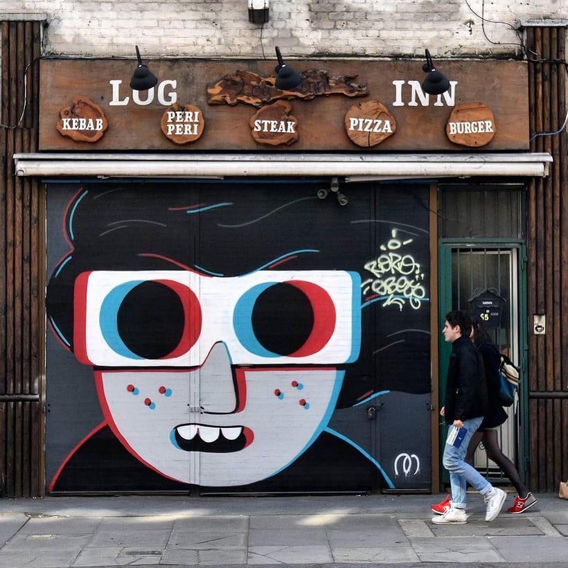 Muretz: arte urbano por un São Paolo más divertido 7