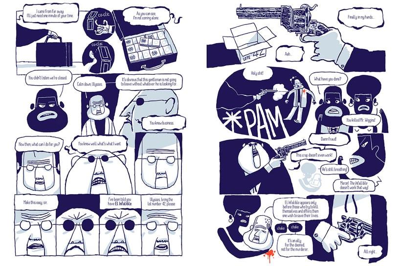 """Paga lo que quieras y descarga el cómic """"Old Shorts by Puño"""" 1"""