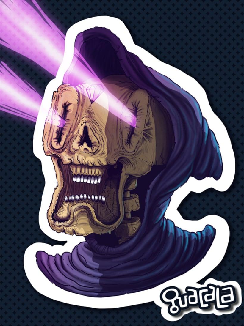 Fan Art /// Skeletor -1
