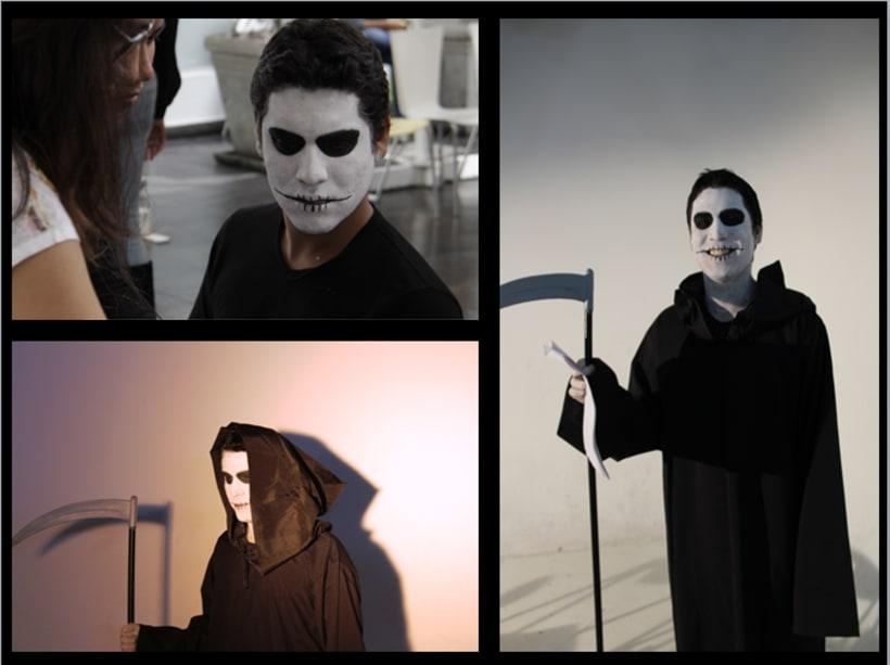 """Dirección de Arte para Adaptación del Cómic """"LENORE"""" de Roman Dirge - Segundo ciclo  2"""