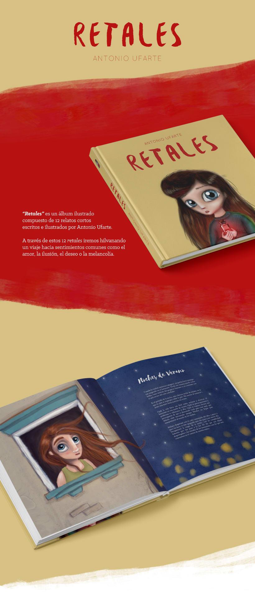 """""""Retales"""" Album ilustrado -1"""