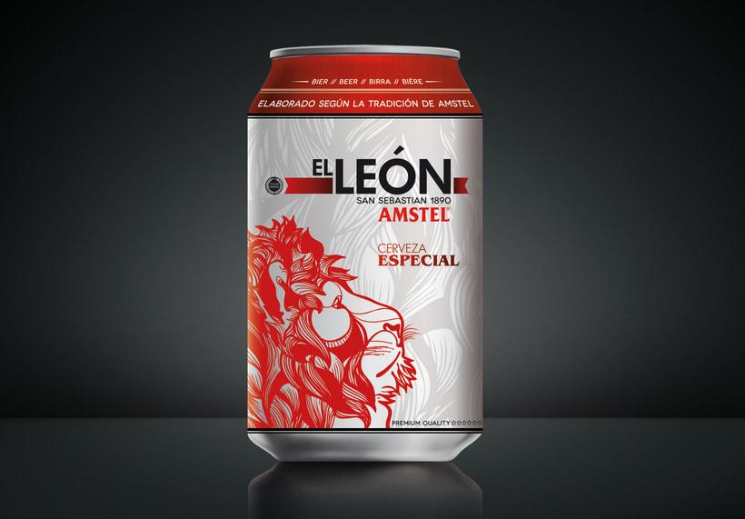 "AMSTEL ""El Leon"". 5"