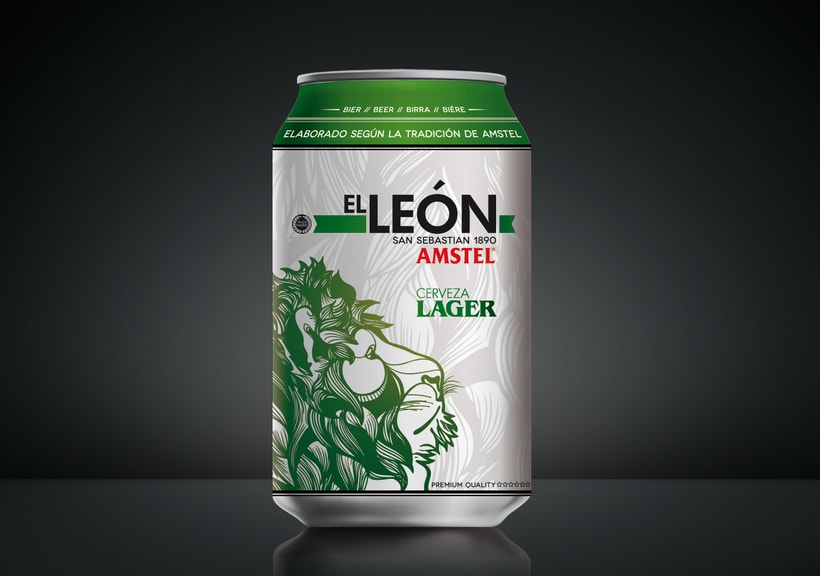 "AMSTEL ""El Leon"". 6"