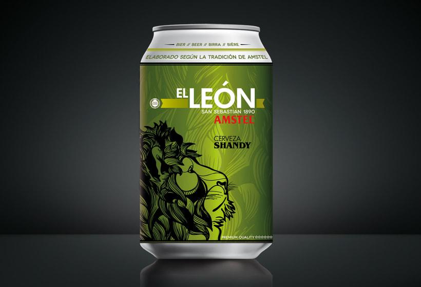 "AMSTEL ""El Leon"". 8"