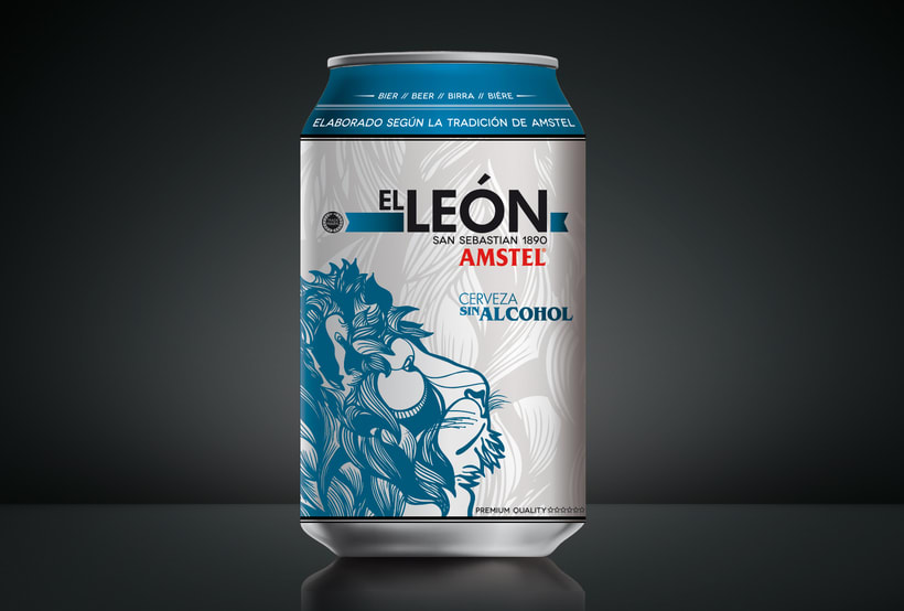 "AMSTEL ""El Leon"". 9"