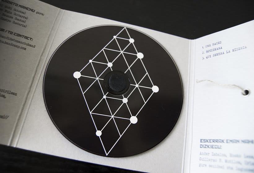 Diseño e ilustración del primer EP de Candidato Manchú -1